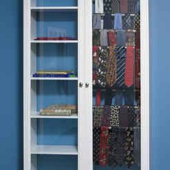 Sari and Tie Cabinets