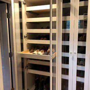Shoe Cabinet - Doors Open