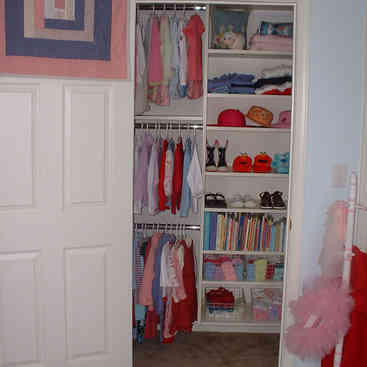 Child Closet - After