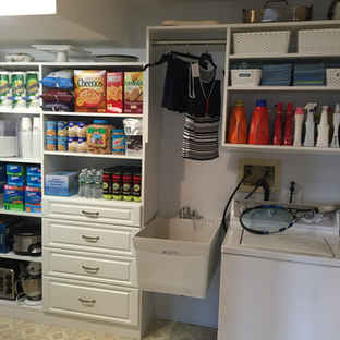 Laundry and Pantry Combination