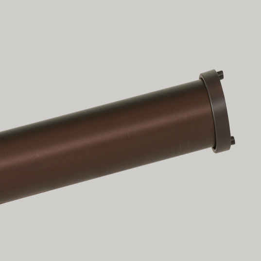 Oil-Rubbed Bronze Pole Finish