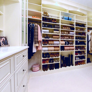 Walk-In Closet: Shoe Lover's Dream