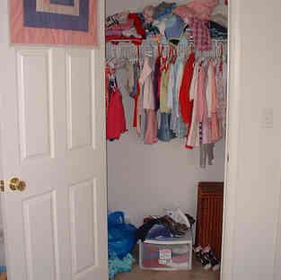 Child Closet - Before