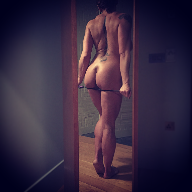 BUM IN THE MIRROR