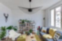 Trappier architecte d'intérieur Lyon, intérieur scandinave, intérieur contemprain, rénovation appartement Lyon
