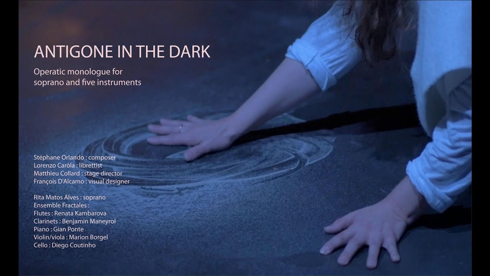 Antigone in the Dark