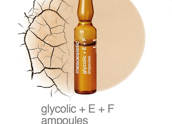 Glycolic + E + F ampoules