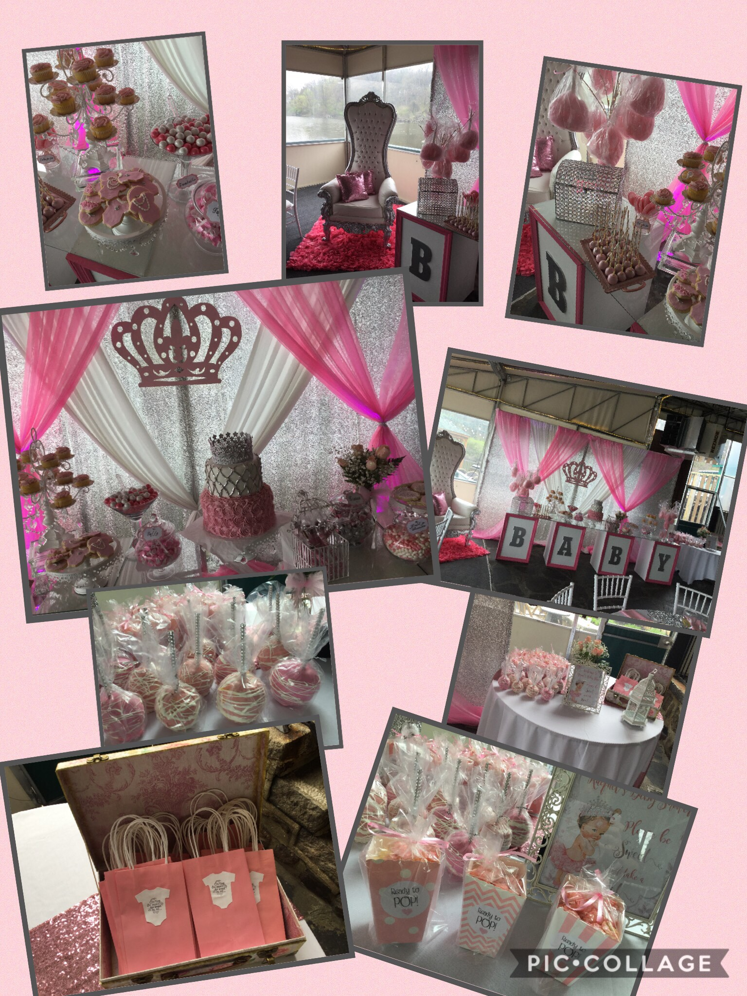 PINK AND GOLD PARTY IDEAS