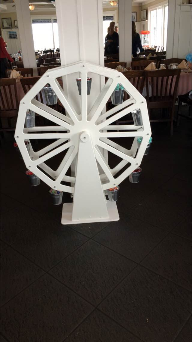 FERRIS WHEEL CANDY CART
