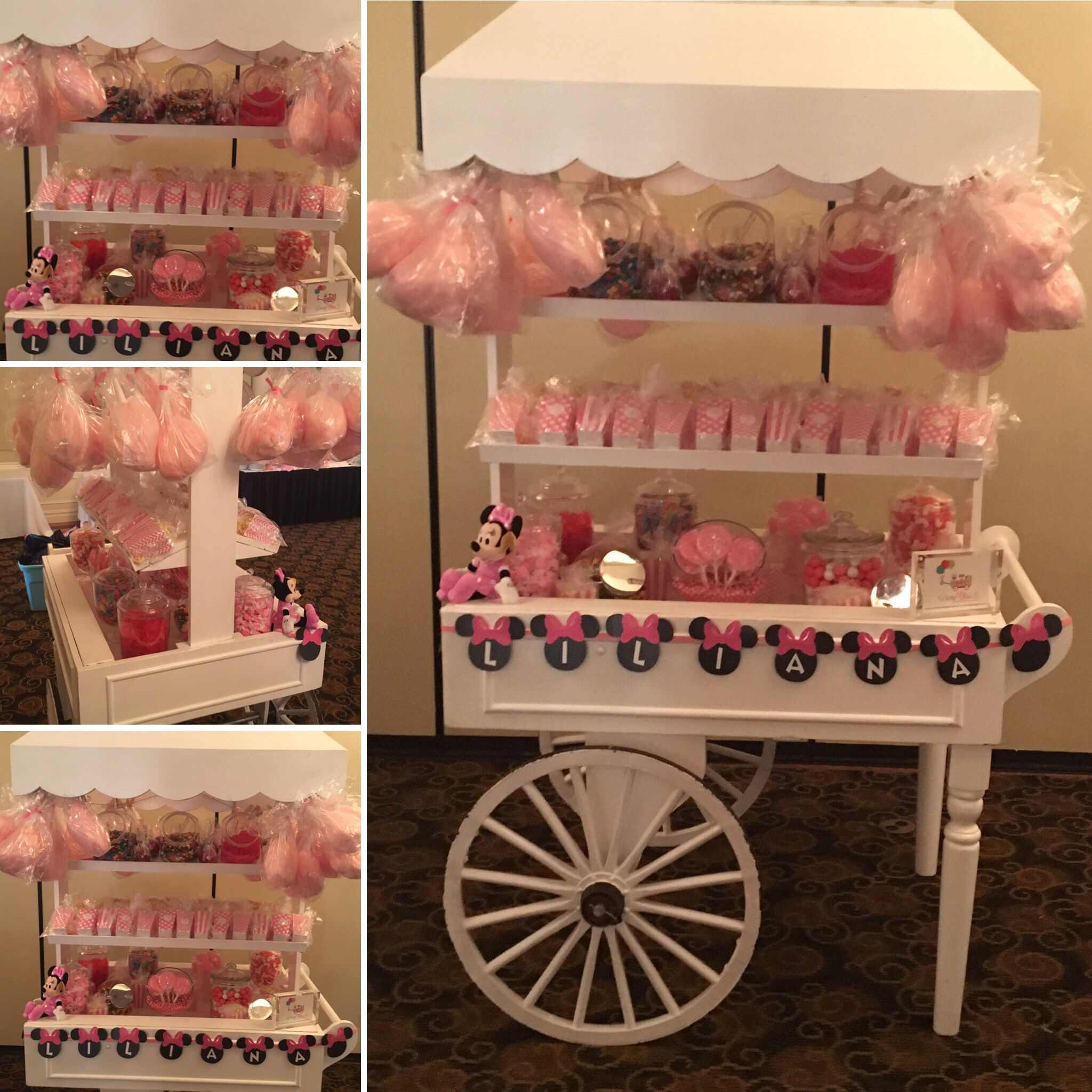 MINNIE THEME CART