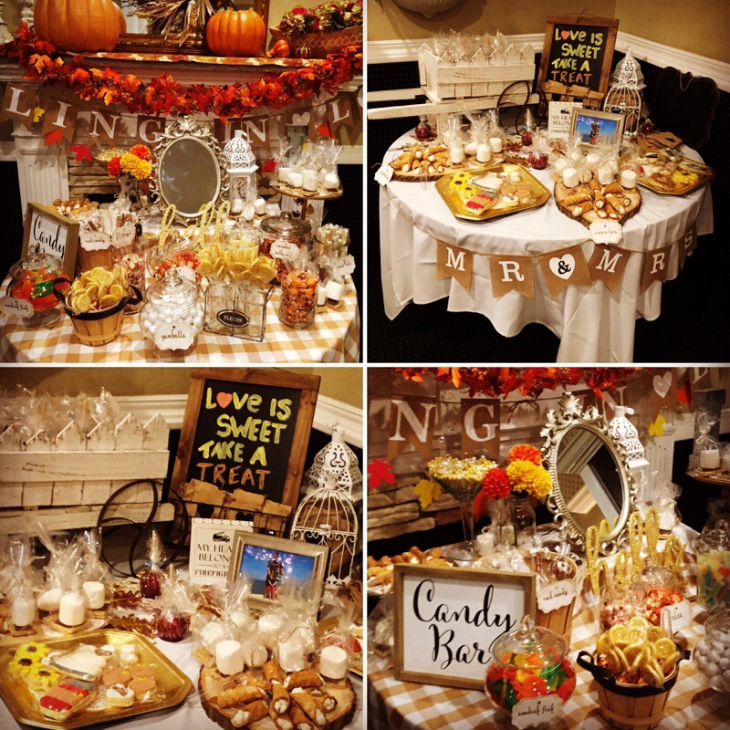 ENGAGEMENT DESSERT TABLE