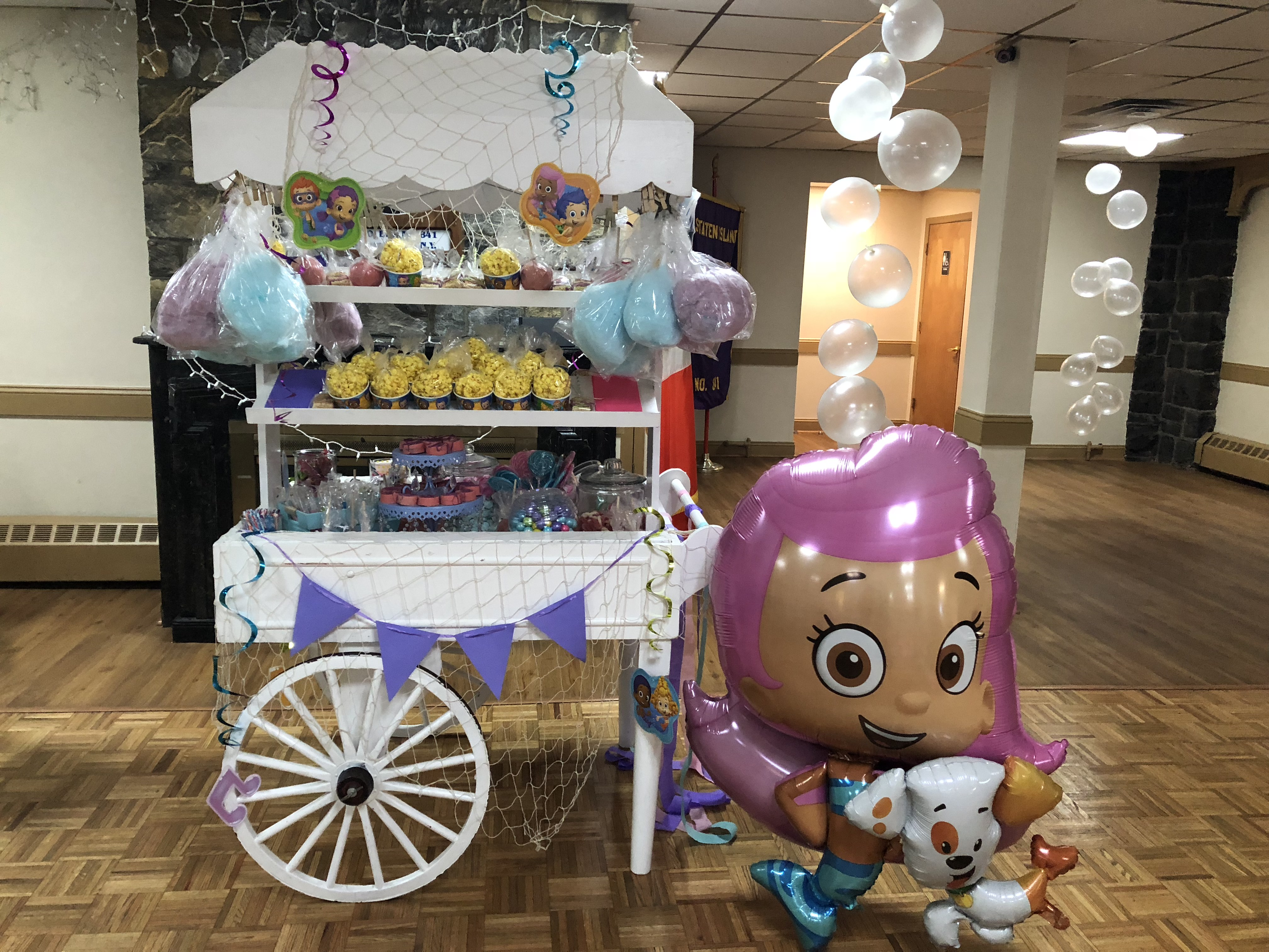 Bubble Guppies Party Theme