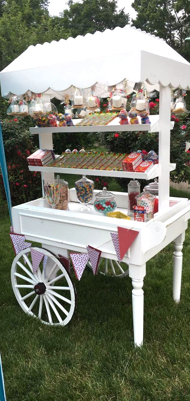 CUSTOM CANDY CART