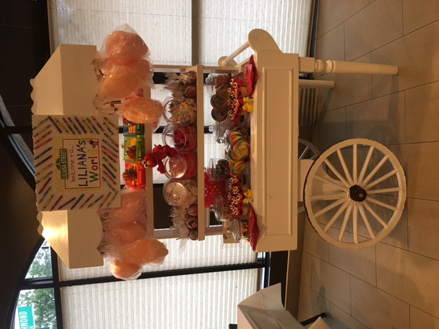 ELMO THEME CANDY CART
