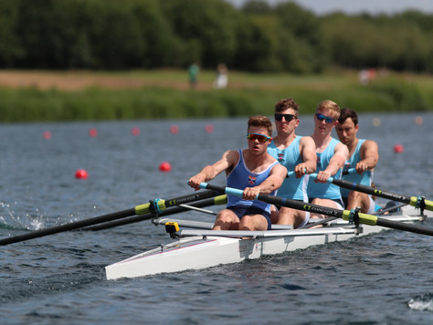 Two fours at Henley Women's and Marlow