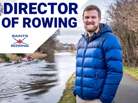 A new Director of Rowing