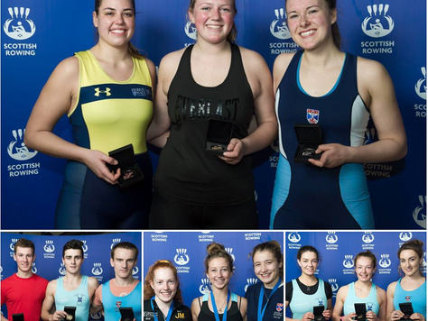 2nd At Scottish Rowing Indoor Championships