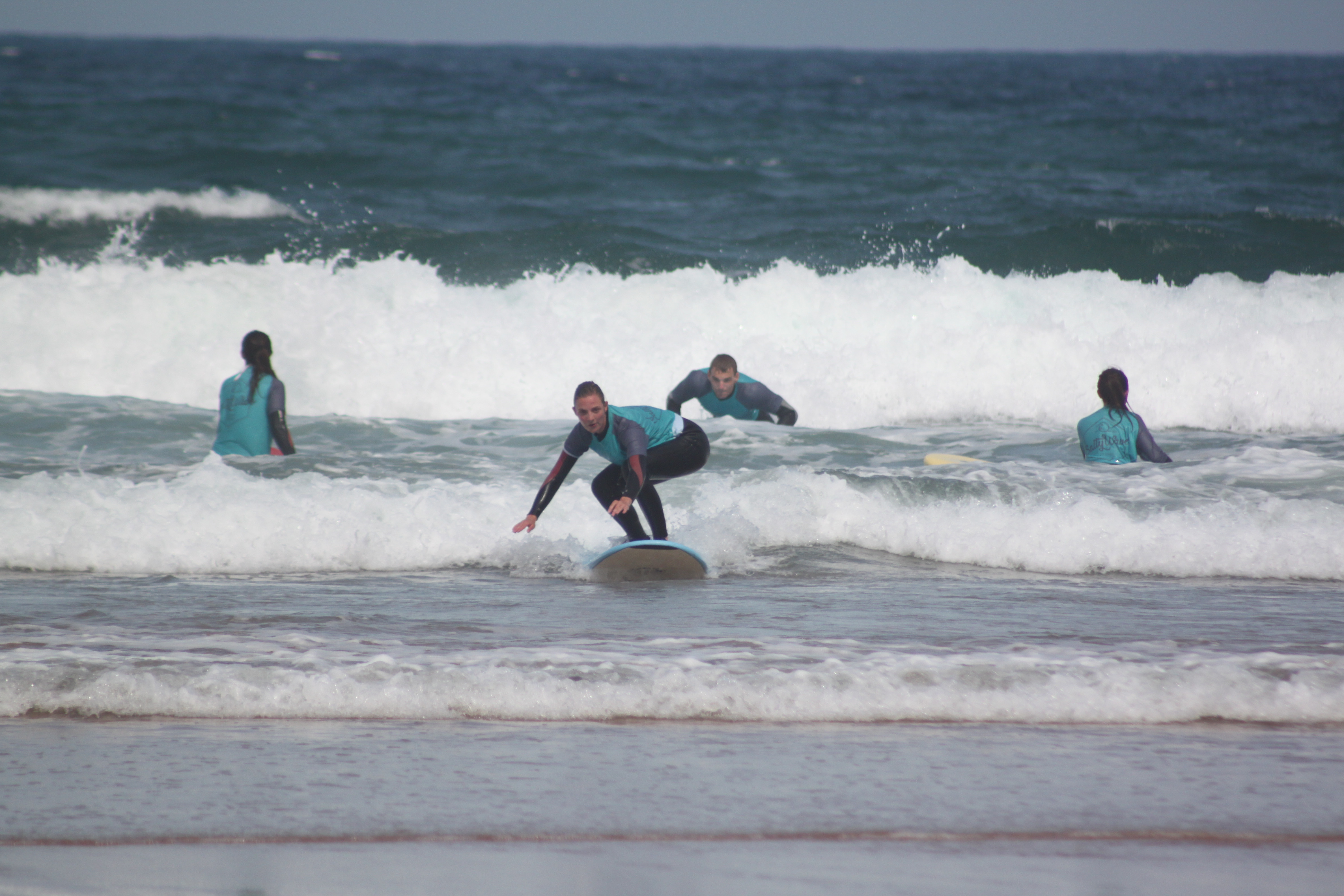 1 Day surf lesson - Low Season