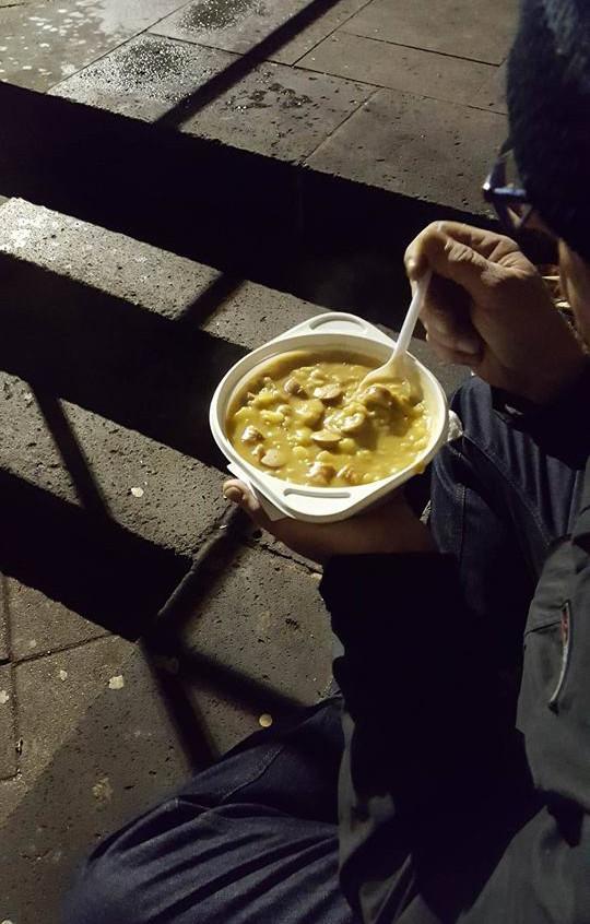 Warme Suppe, für Viele ein Segen...