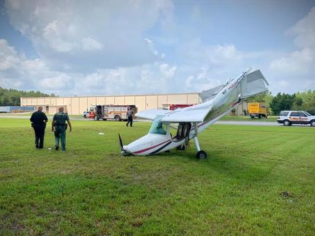 Airplane Crash at Wesley Chapel Airport