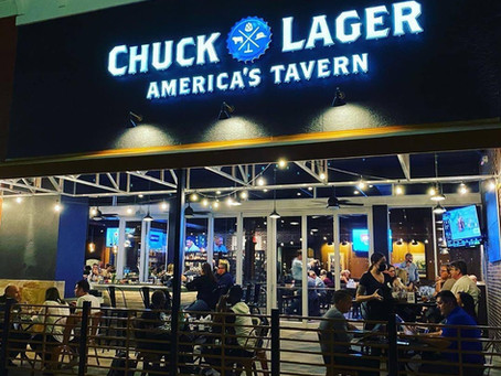 Chuck Lager America's Tavern Opens Today