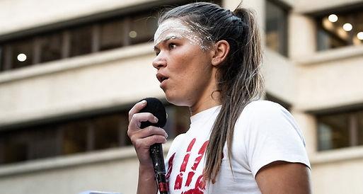 Law student Vanessa Turnbull-Roberts pic