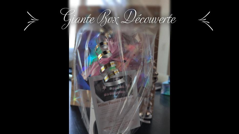 Giante Box - Brûleur  Idée Cadeau Découverte