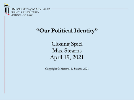 Our Political Identity