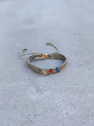 Pool bracelet S Argent