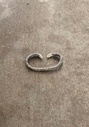 Uma double ring silver