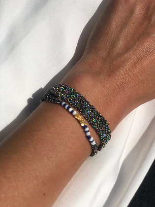 Secondskin bracelet S Peacock