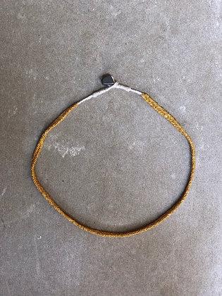 Secondskin necklace Indian gold