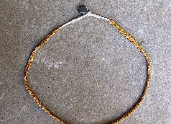 Secondskin collier Indian gold