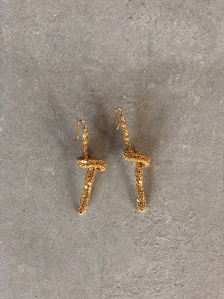 Ojay earrings Indian gold