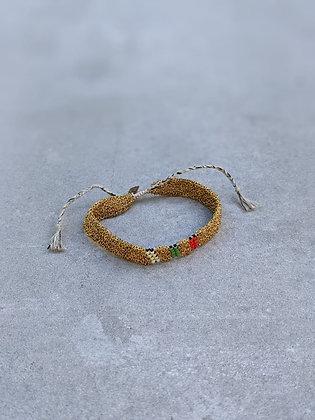 Pool bracelet S Indian gold