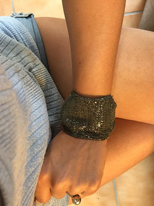 Secondskin black bracelet XL
