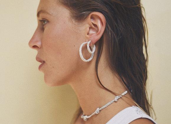 Wanda earrings white S