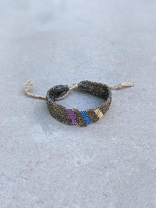 Pool bracelet M Peacock