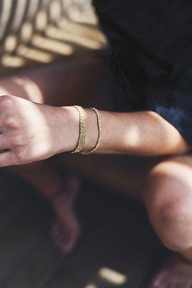 Secondskin Indian gold bracelet XS