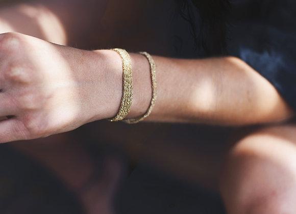 Secondskin bracelet XS Indian gold
