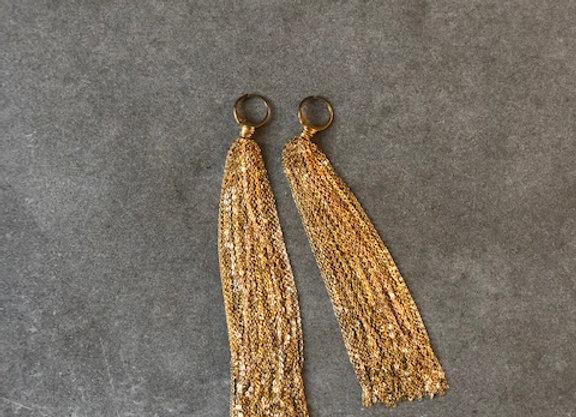 Fall boucles d'oreilles Indian gold