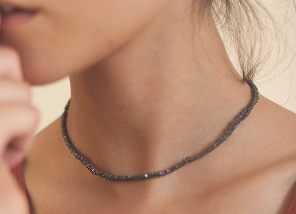 Secondskin collier Noir