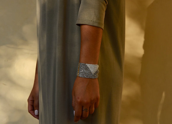 Forma bracelet Silver L