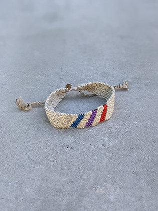 Pool bracelet M White