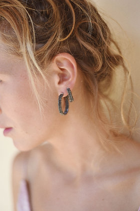 Wanda earrings black M