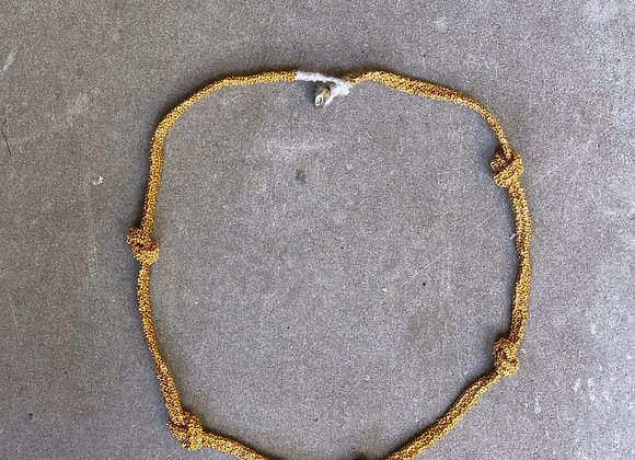 Ojay collier Indian gold