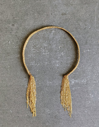 Fall collier Indian gold