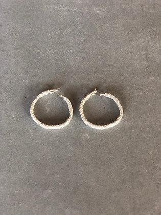 Wanda earrings white M