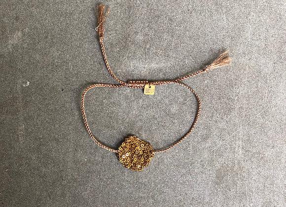 Medal bracelet Indian gold S