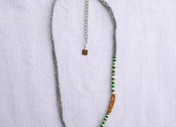Azila silver necklace